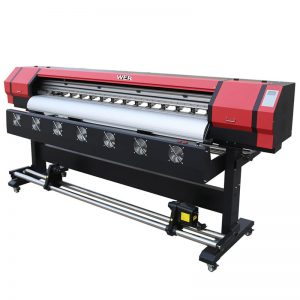1,8 metru eco solvent digitālais printeris ar dubultdrukas galviņu DX5 WER-ES1901