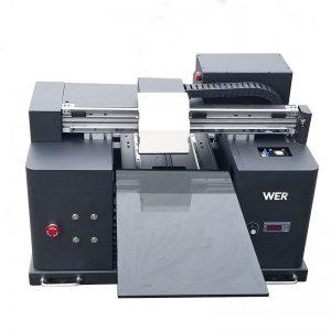 2018 UV ledus uzlīmju printeris a4 dtg t krekli logo drukas iekārta pārdošanai WER-E1080T
