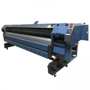 Konica 512i drukas galviņas digitālais vinilflex banner šķīdinātāja printeris / ploteris / iespiedmašīna Wer-K3204I 3.2m