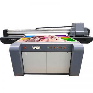 3D efekts UV borta printeris, keramikas printeris, flīžu apdrukāšanas mašīna porcelānā WER-EF1310UV