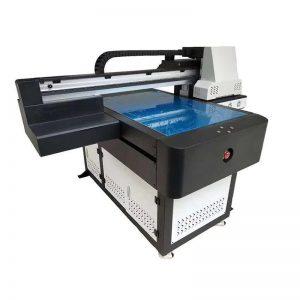 A1 UV printera digitālā 6090 plakanvirsmas UV iespiedmašīna ar 3D efektu / lakas iespiešana