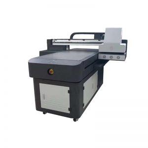CE apstiprināts rūpnīcas lētu cenu digitālais t-krekls printeris, UV digitālā iespiedmašīna T-kreklu apdrukai WER-ED6090UV