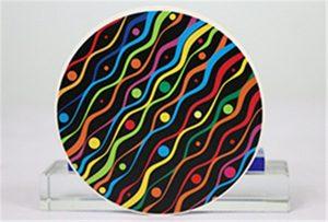 Keramikas drukas paraugi no Rioch head uv WER-G2513UV
