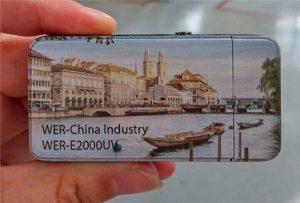 Elektrisko šķiltavu izdrukāja A3 izmēra mazais UV printeris -WER-E2000UV