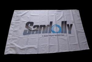 Karoga auduma banner, ko izdrukā 1,6 m (5 pēdas) eco solvent printeris WER-ES160
