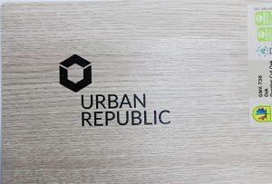 Logotipa drukāšana uz koksnes materiāliem ar WER-D4880UV 2