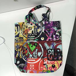 Neausta soma drukāšanas paraugs, izmantojot A1 digitālo tekstilmateriālu printeri WER-EP6090T