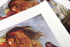 Eļļas glezna, ko izdrukā 2,5 metrus (8 pēdas) ekoloģisko šķīdinātāju printeris WER-ES2501