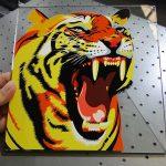 Vienas vienreizējas stikla drukāšanas šķīdums