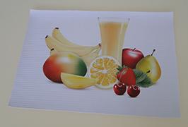 PVC banneris, kas izdrukāts ar 3.2 m (10 pēdas) ekoloģisko šķīdinātāju printeri WER-ES3201