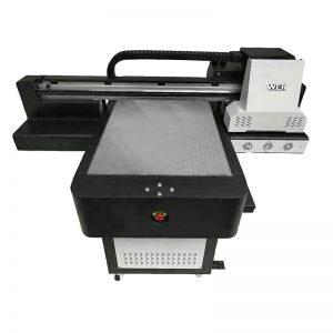 maza izmēra augstas kvalitātes tālruņa korpuss ar platformu UV printeri WER-ED6090UV