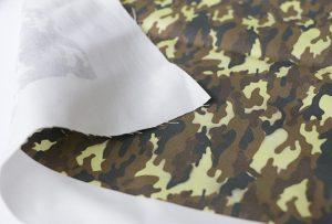 Tekstilizstrādes paraugs 3 ar digitālo tekstilmateriālu iespiedmašīna WER-EP7880T