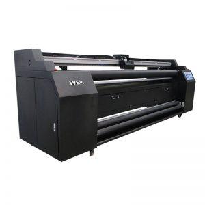 WER-E1802T 1,8 metri tieši uz tekstilmateriāla printeri ar 2 * DX5 sublimācijas printeri