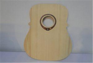 Koka ģitāras paraugs no A2 izmēra UV printera WER-DD4290UV