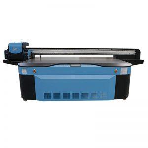 pilnkrāsu CMYK LCLM baltā laka UV plakanvirsmas printeris 3D WER-G2513UV