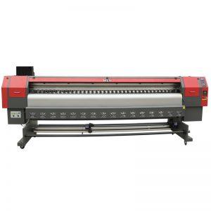 ātrgaitas 3,2 m šķīdinātāja printeris, digitālā flex banner drukas iekārta cena WER-ES3202
