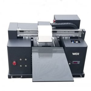LED UV printera cena, A3 UV plakanvirsmas printeris WER-E1080UV