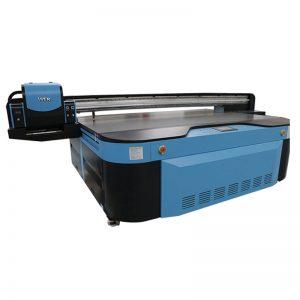 2.5m * 1.3m drukāšanas izmērs 3D iespiešana Industrial Led UV printeris metāla, koka, stikla, keramikas, kuģa, akrila, PVC,